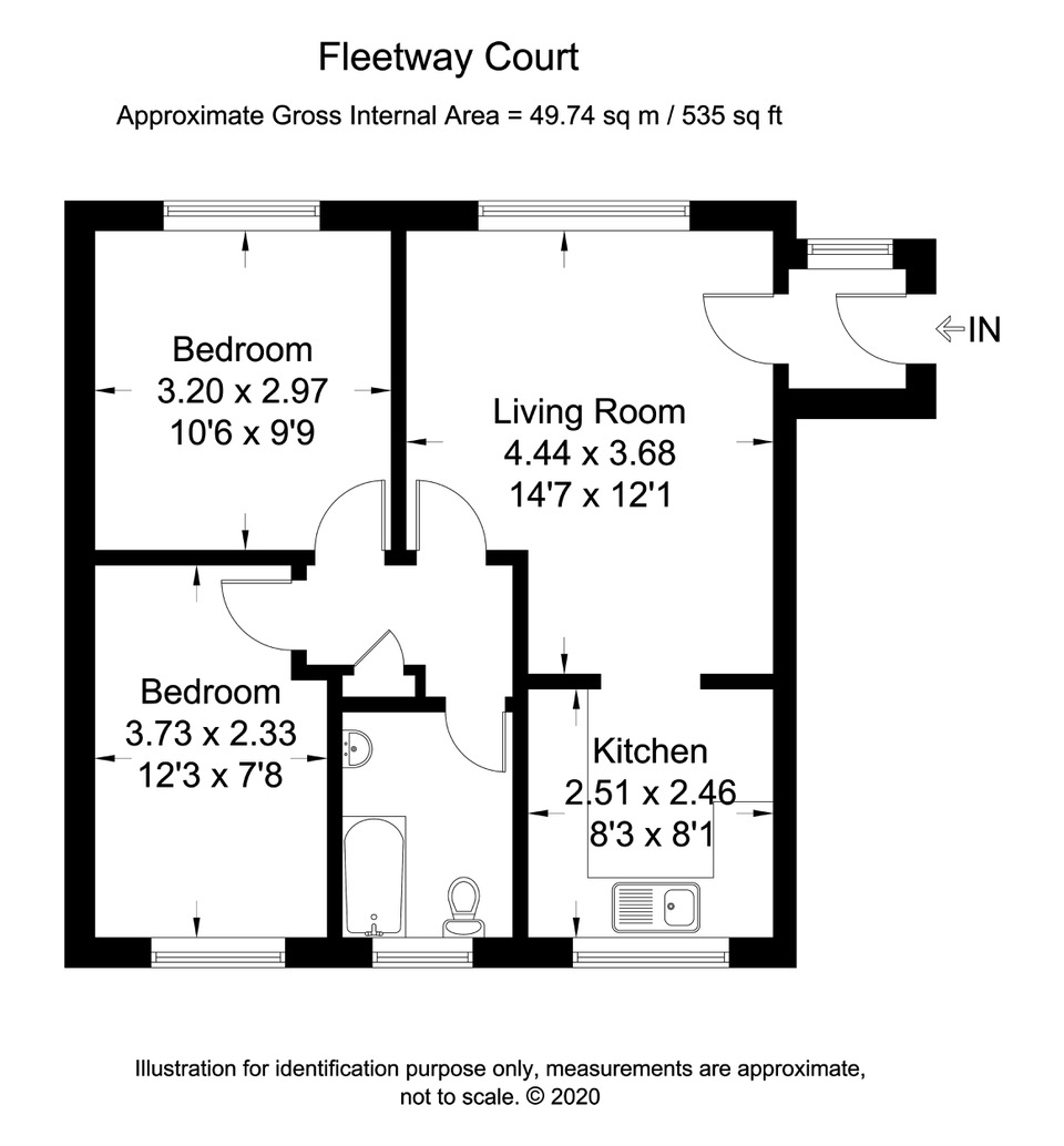 Camber – 2 Bedroom Flat